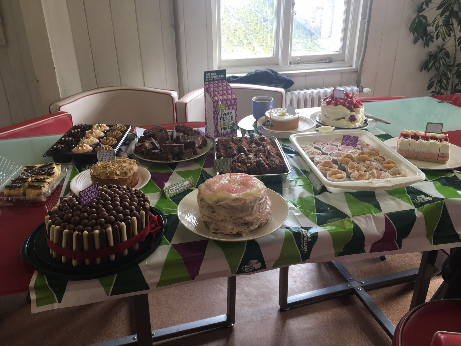 Macmillan Cancer Support Coffee and Cake Morning