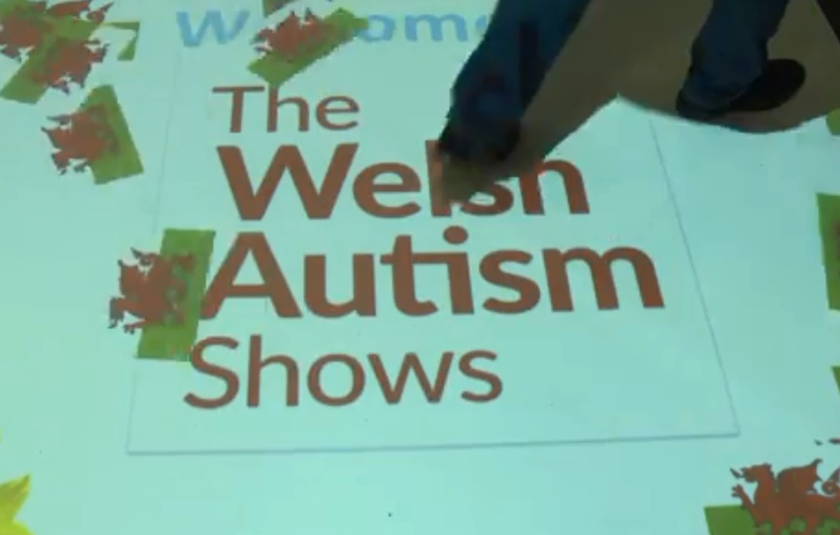 Welsh Autism Show 2017 - Come and meet the OPTI Aura projector