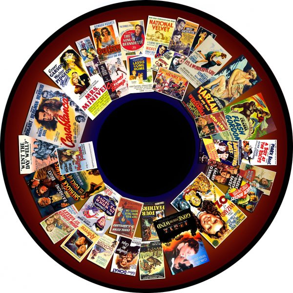 "1930's -1940's Films 6"" Effect Wheel"