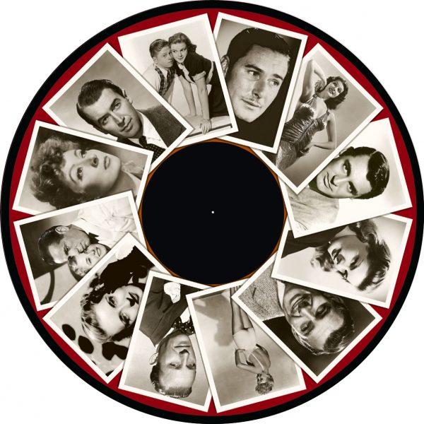 "1940's Film Stars 6"" Effect Wheel"