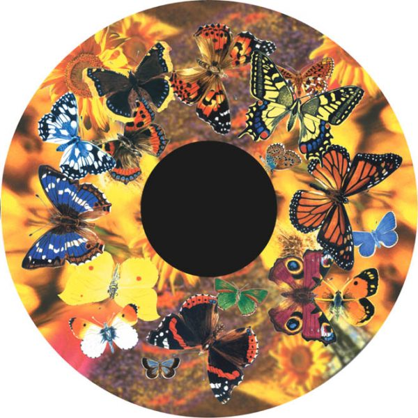 "Butterflies 6"" Effect Wheel"
