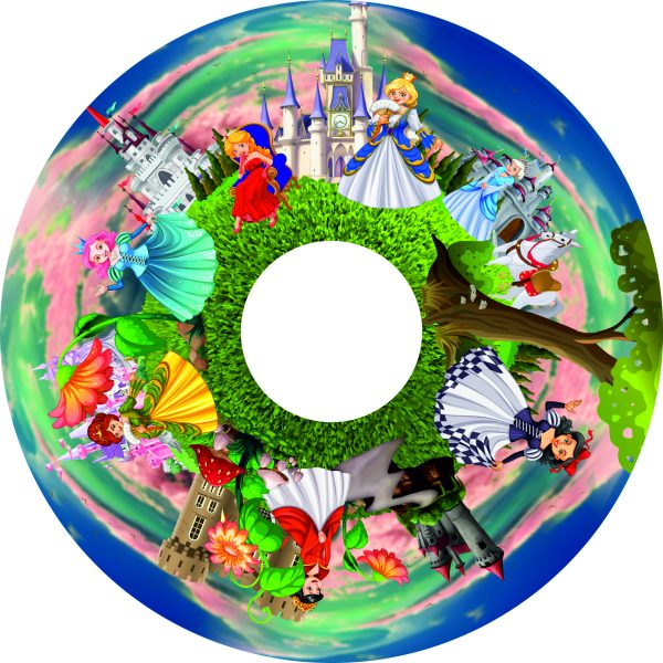 "Princesses 6"" Effect Wheel"