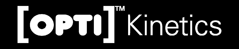 Opti Kinetics Logo white