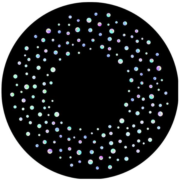 Bubble (Colour) 6″ Effect Wheel