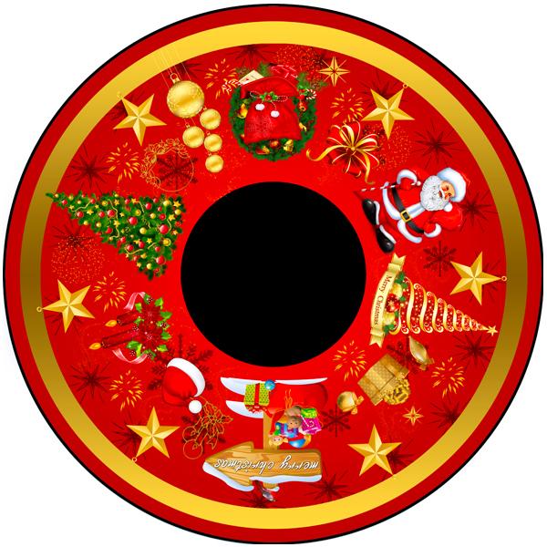Traditional Christmas 6″ Effect Wheel