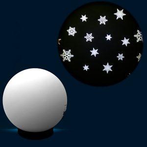 Snow Crystals 6″ Effect Wheel