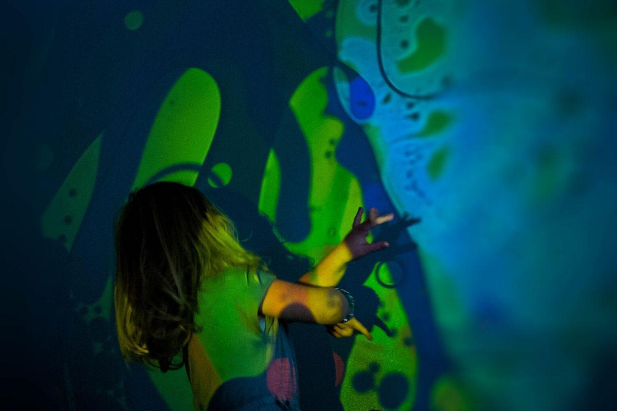 sensory room ideas aura projector